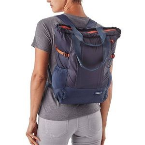NAVY tote backpack